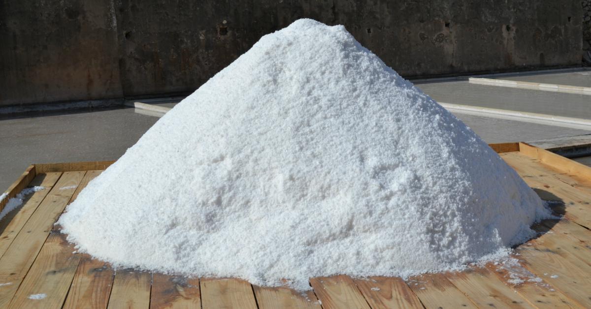 Grote-hoeveelheid-zout
