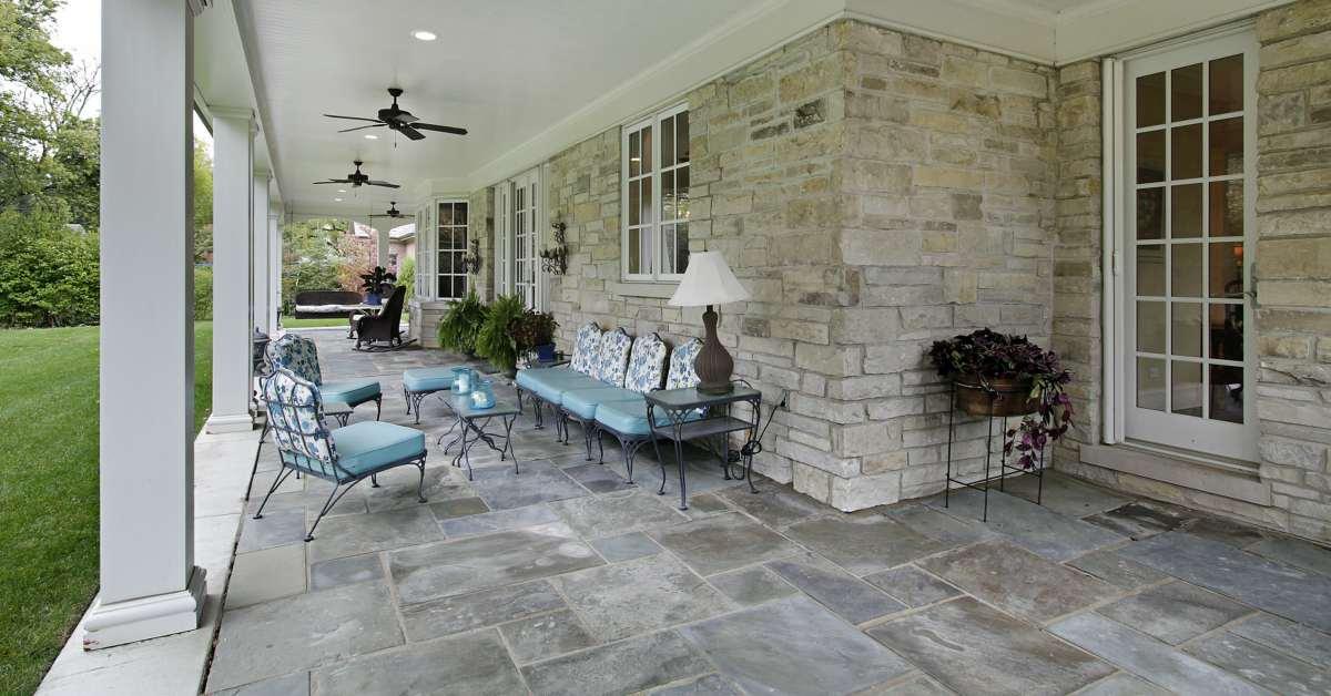 terrasbestrating natuursteen