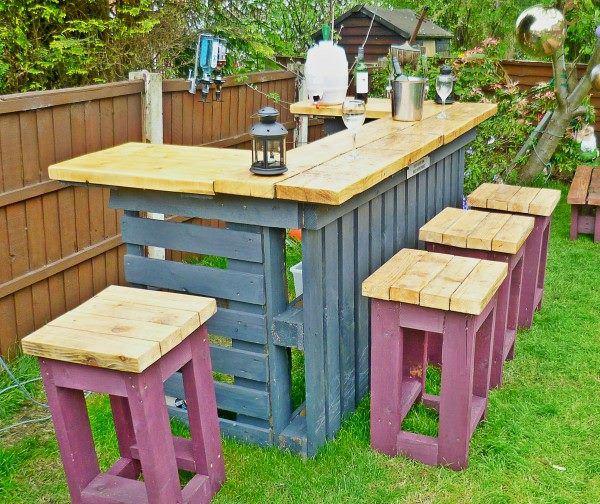 Een-bar-van-pallets