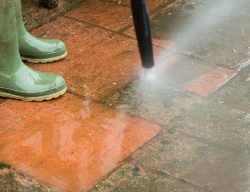 Het terras reinigen & schoonmaken