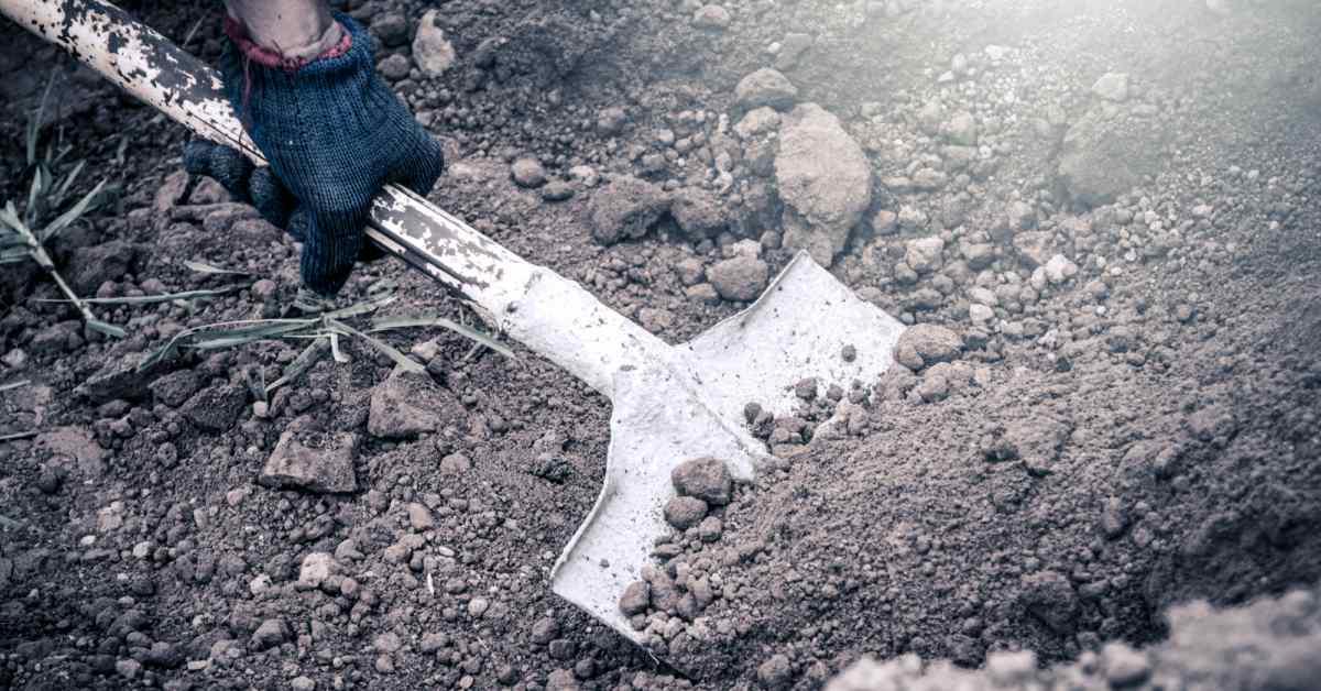 Terras-uitgraven