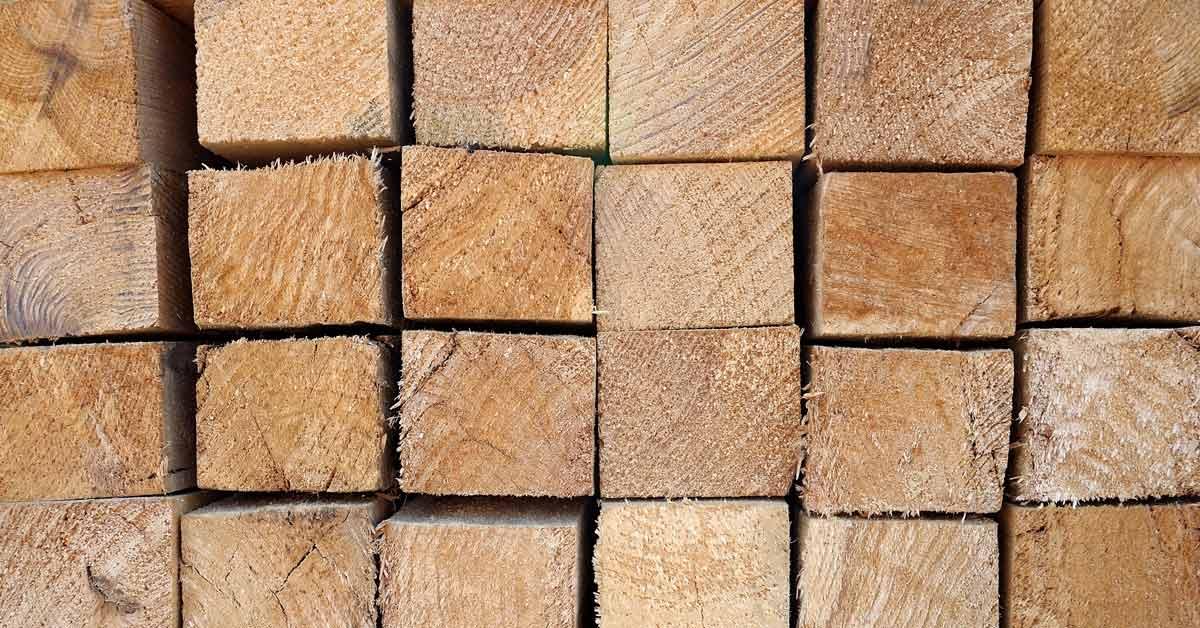houten schuttingpalen