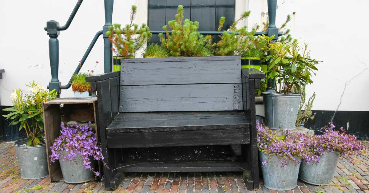 Idee kleine tuin indelen beelden : Kleine Voortuin Inrichten: 13 Foto's Voor Inspiratie