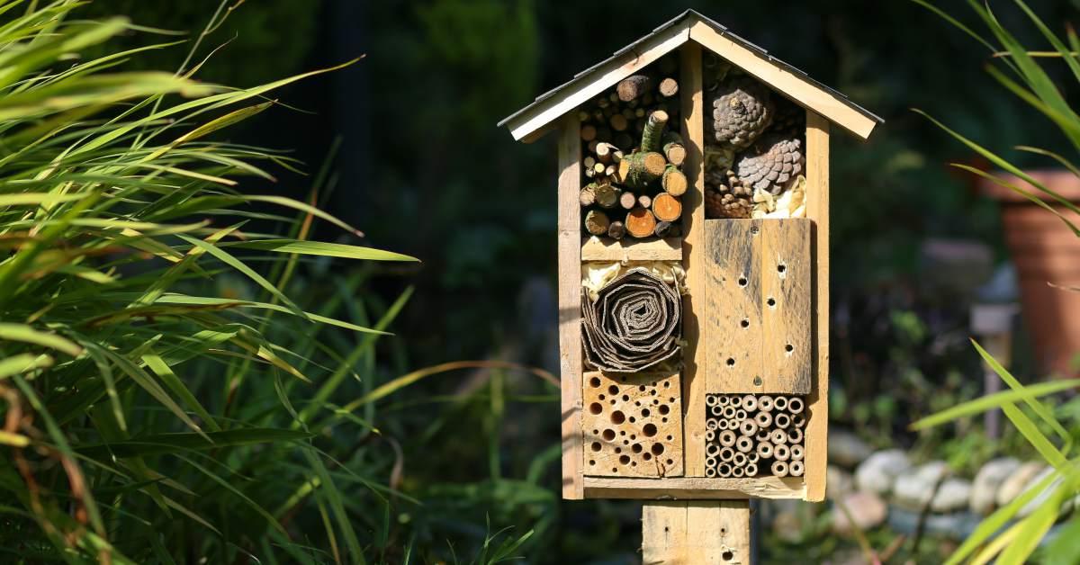 Afdak bijenhotel