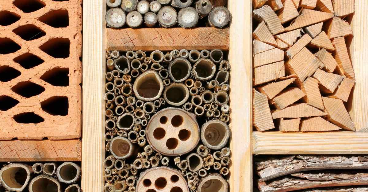 Materiaal bijenhotel