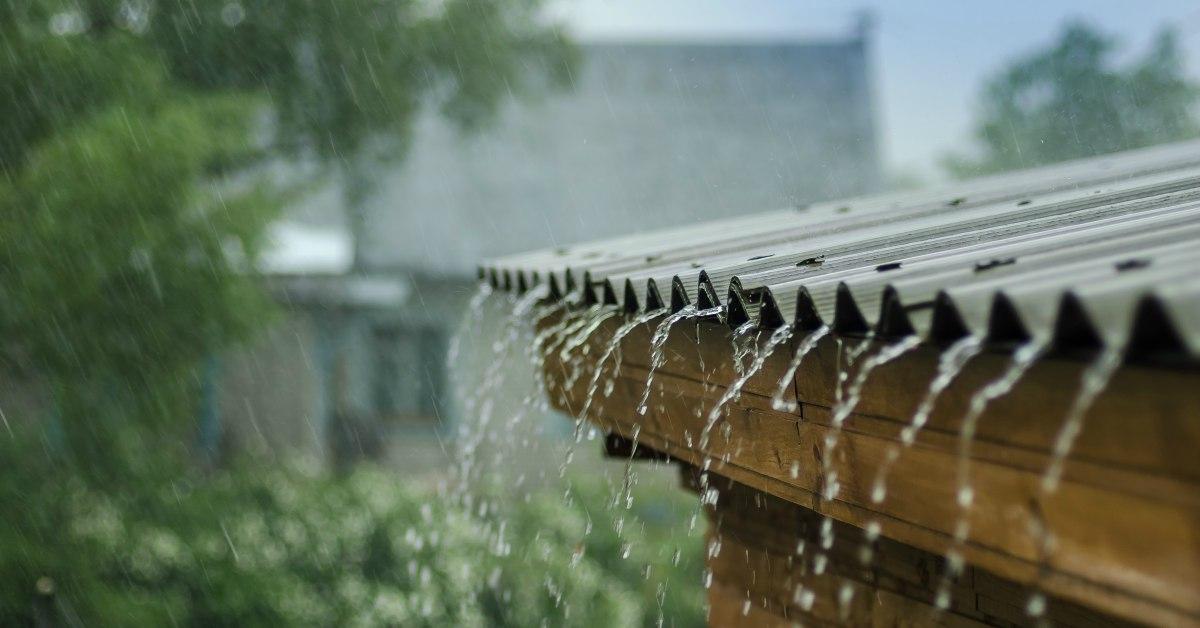 Regen opvangen