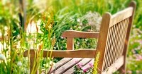 Cover zelf een tuinbankje maken