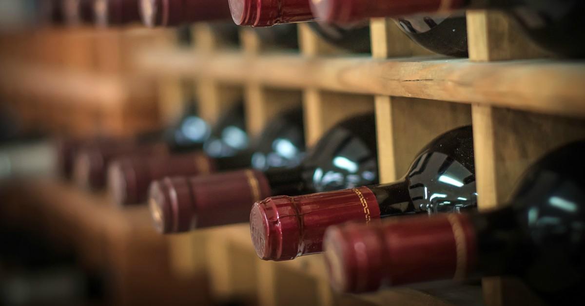 Flessen-wijn