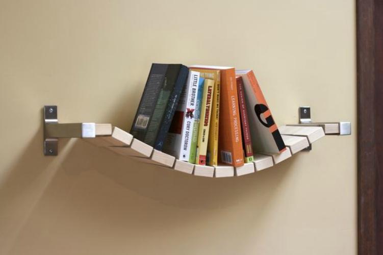 Hangende-boekenplank