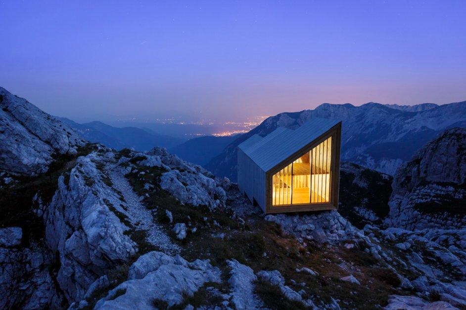 Huis-op-bergtop