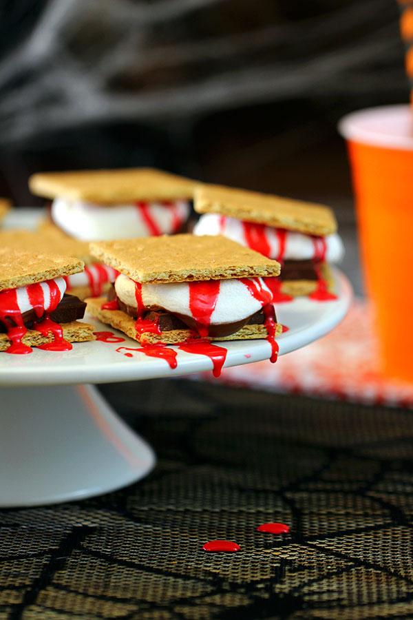 Bloederige koekjes