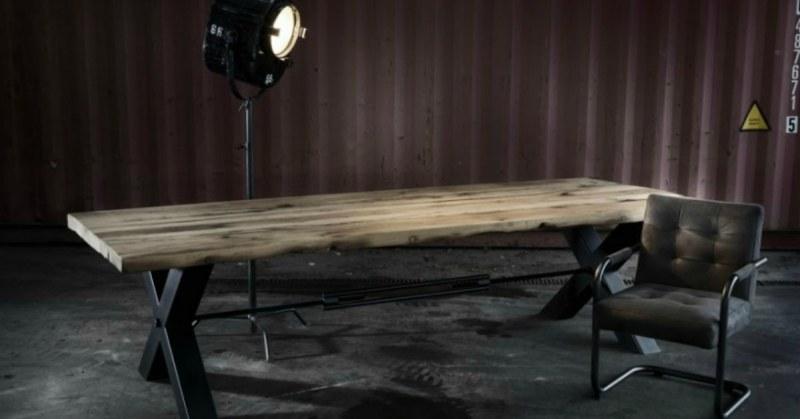Houten Boomstam Tafel : De boomstamtafel kopen suar hout buitenlevengevoel