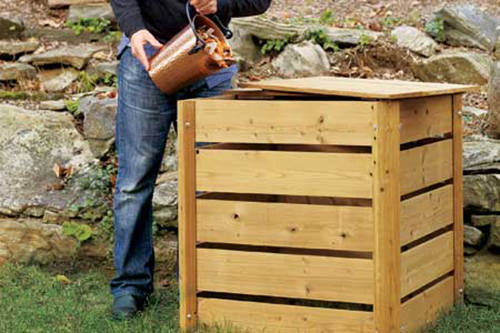 Gewone compostbak
