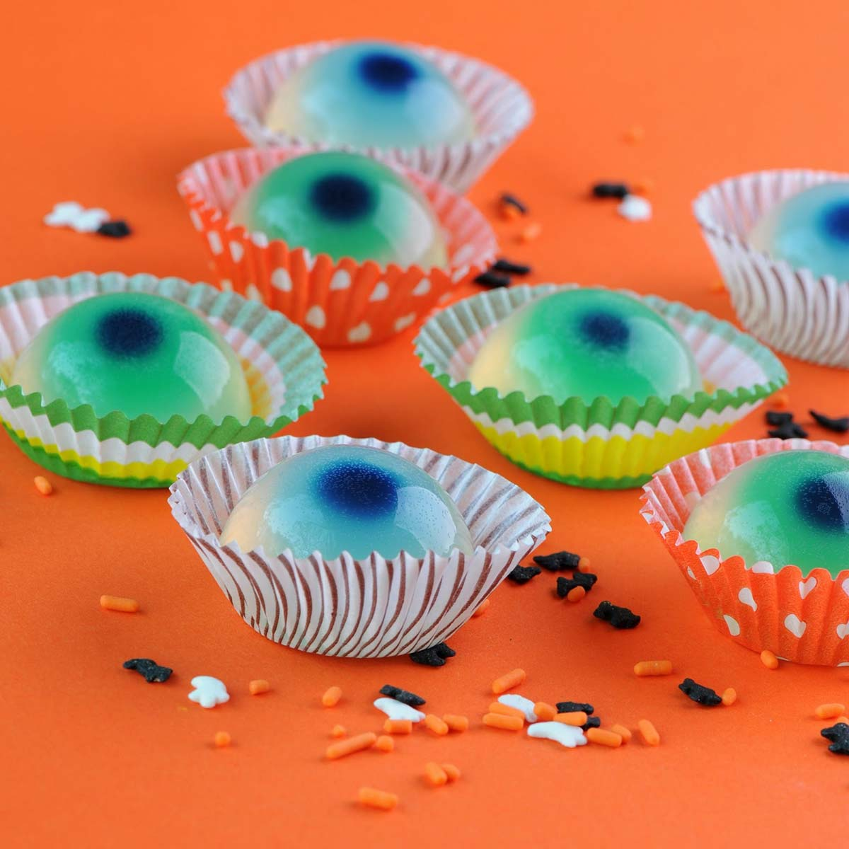 Jelly oogballen