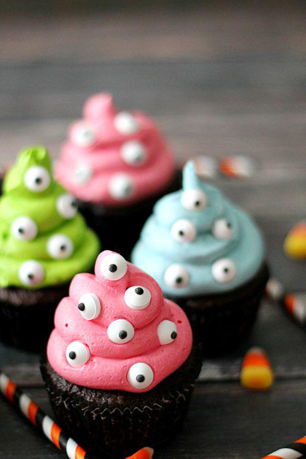 Monsterlijke cupcakes