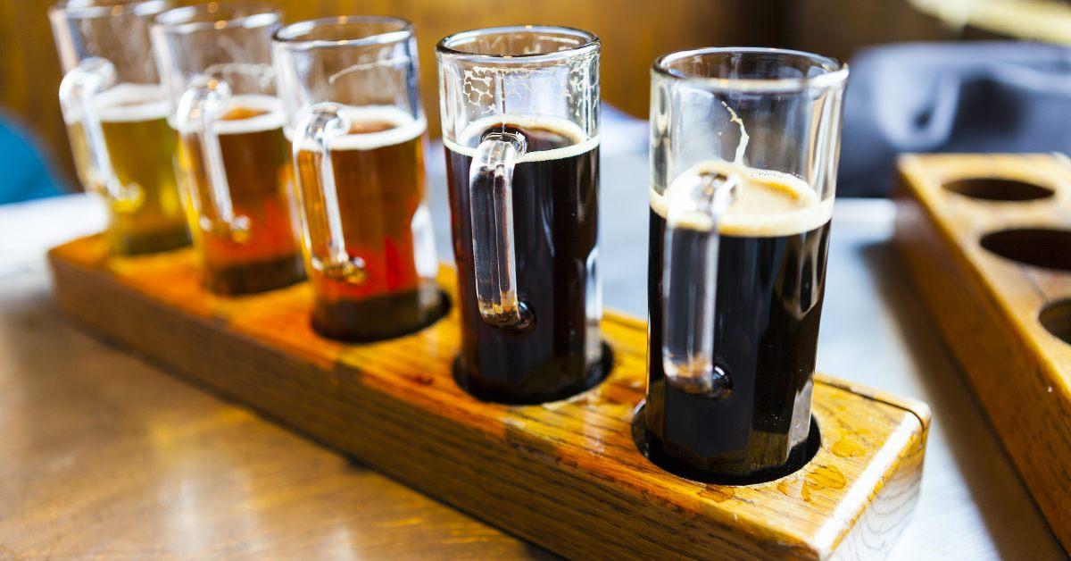 Proefglaasjes-bier