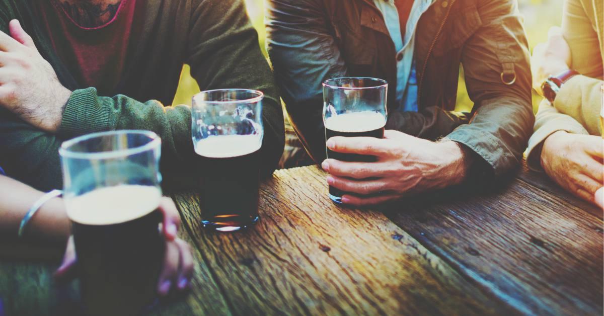 bockbier-drinken