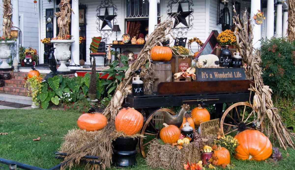 halloween huis gezellig