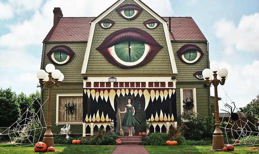 halloween monster huis
