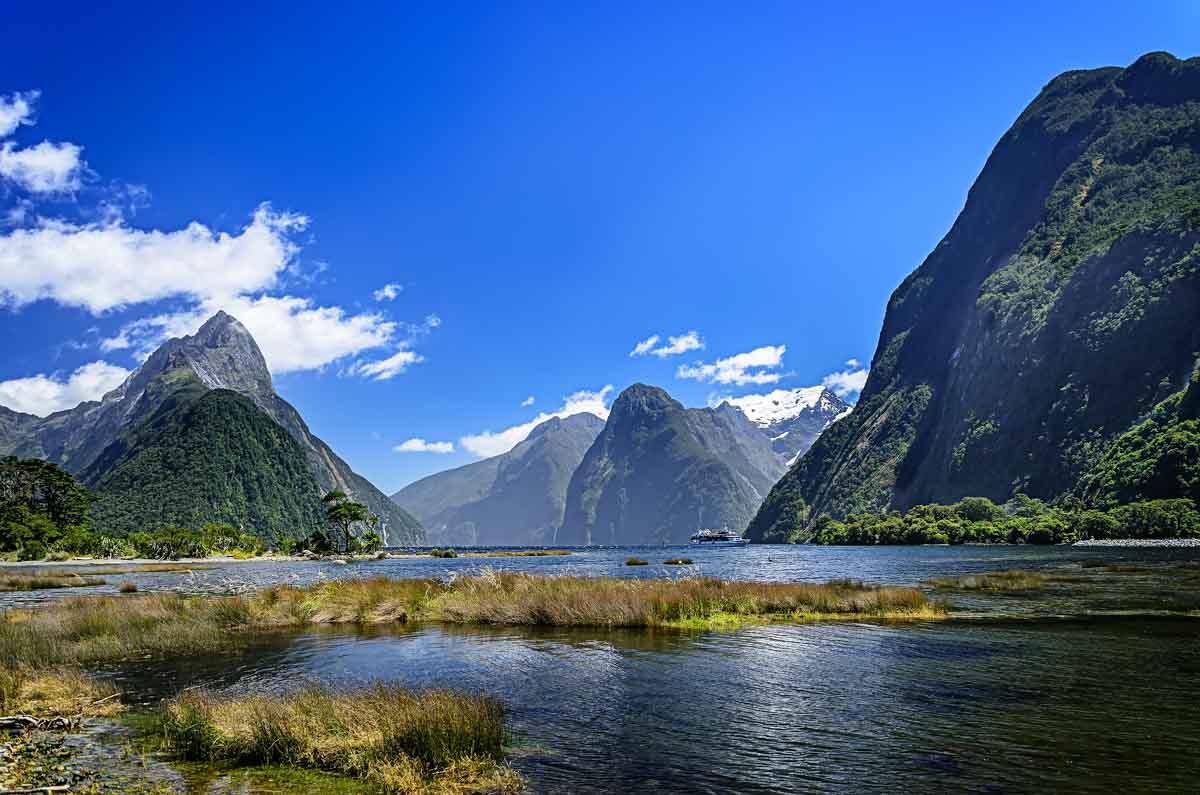 Fiordland-Nieuw-Zeeland