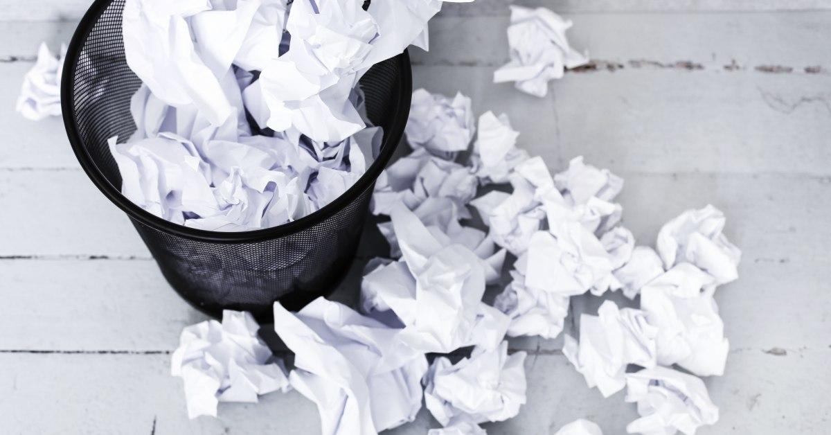 papieren-afval