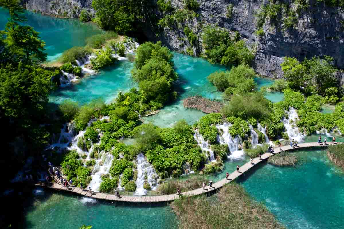 Plitvice-meren-Kroatië