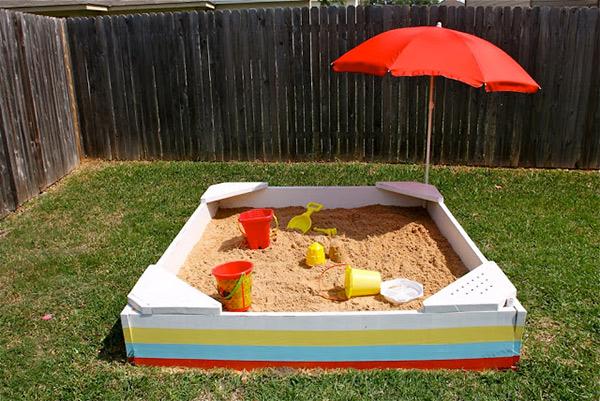 strand zandbak