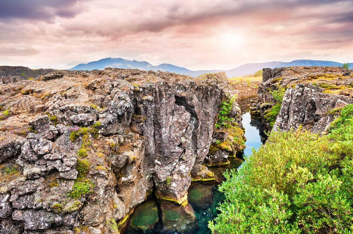 Thingvellir-IJsland