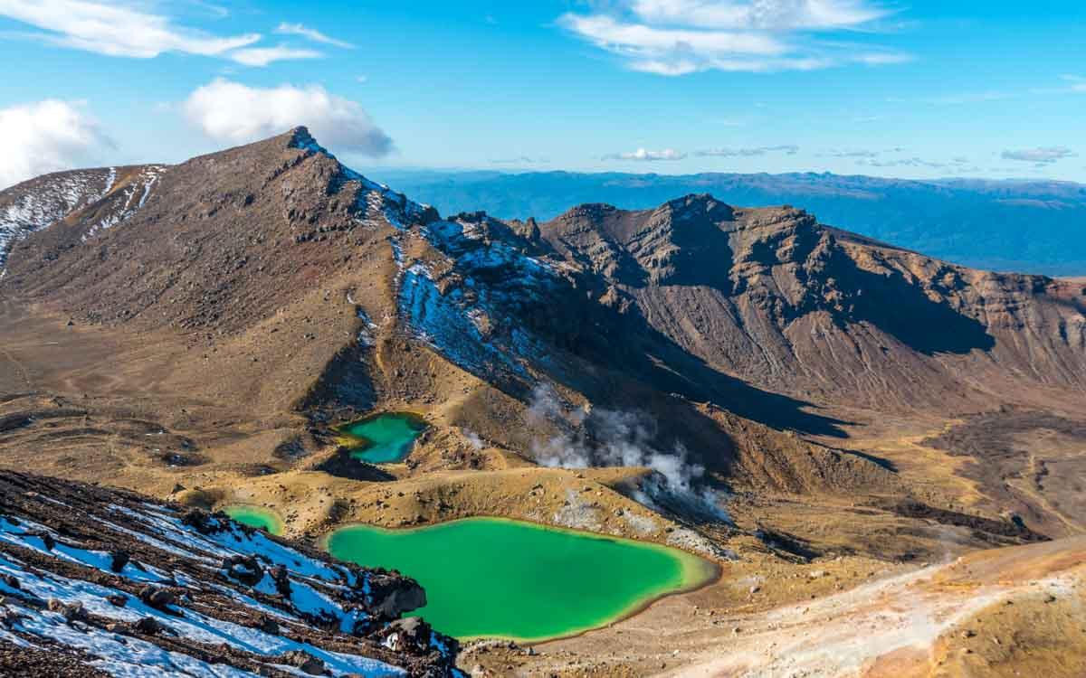 Tongariro-Nieuw-Zeeland