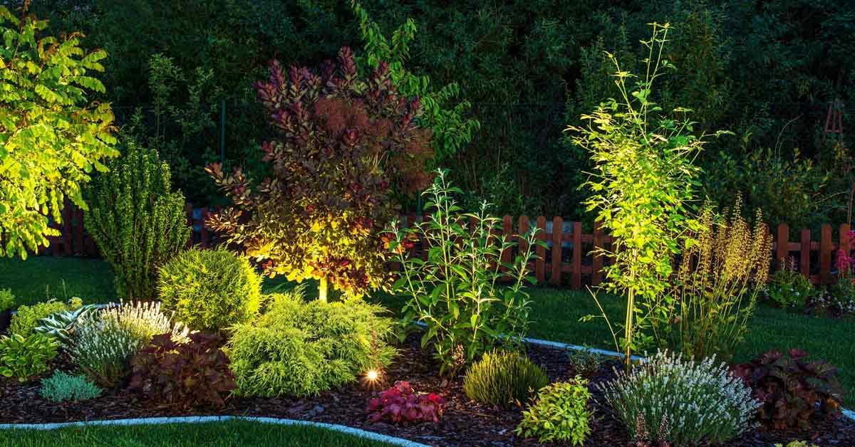 tuinverlichting border