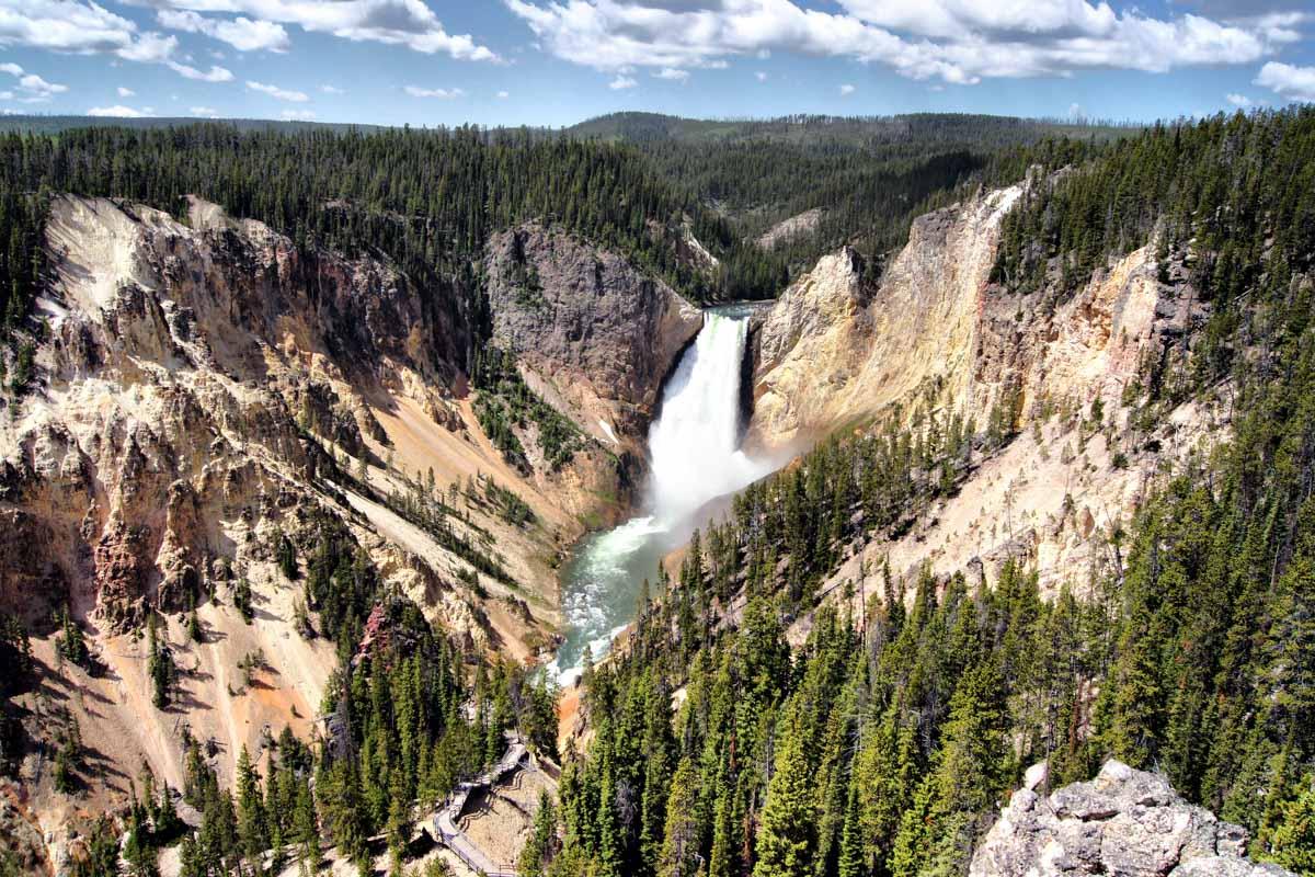 Yellowstone-Verenigde-Staten
