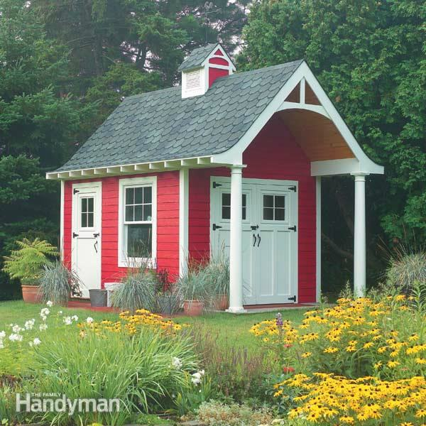 tuinhuis-rood