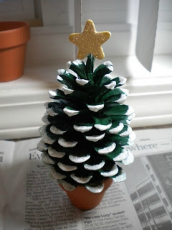 Uitzonderlijk Knutselen Met Kerst: 21 Kunstwerken Om Mee In De Kerstsfeer Te Komen &AM06