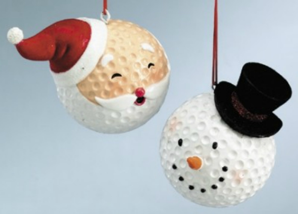 Golfballen-kerst