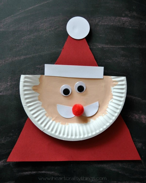 Kerstman-knutselen