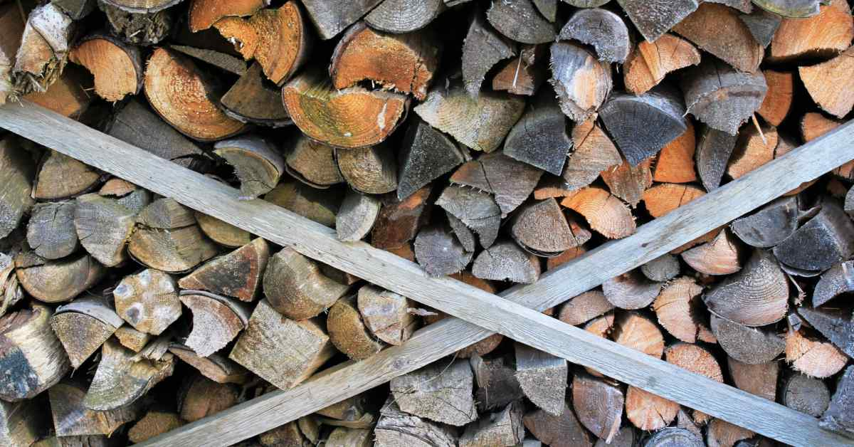 Verzameld-brandhout