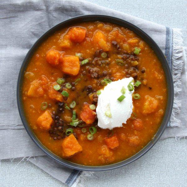 oranje-groentesoep