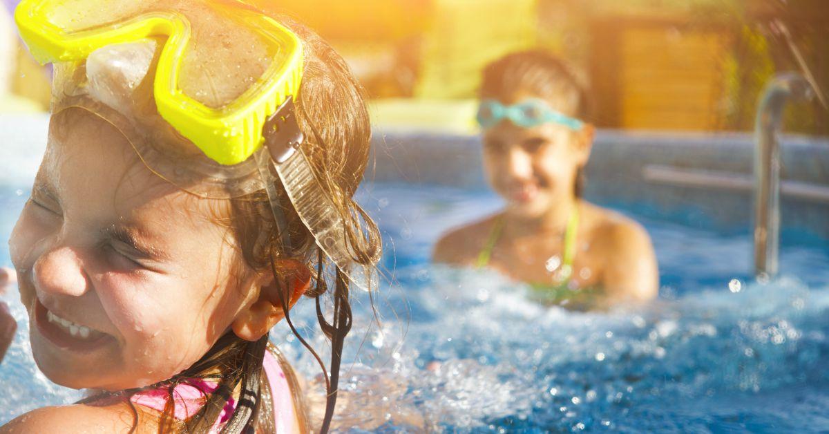 Plezier-in-zwembad