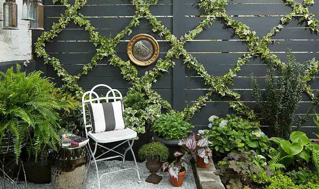 Spiksplinternieuw Tuindecoratie voor aan de muur: 21 inspirerende voorbeelden! QK-19