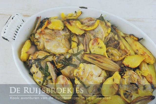 Recept met aardpeer de Ruijsbroekjes