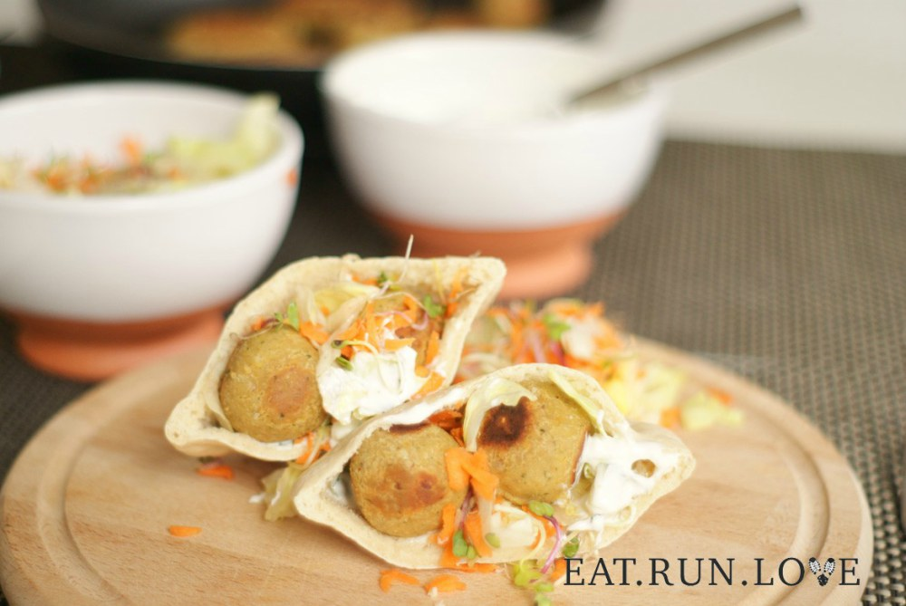 Falafel met yoghurt-muntsaus Eat.Run.Love