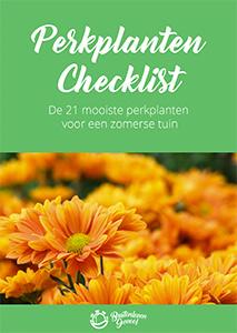 Gratis perkplanten checklist