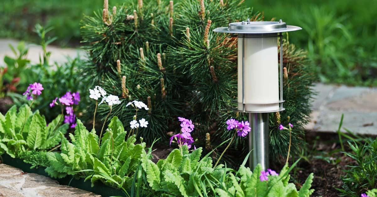 Lamp-in-tuin