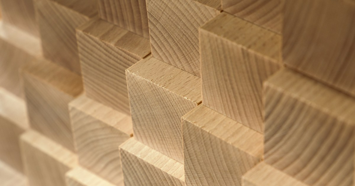 Vierkante pilaren