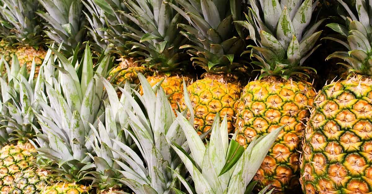 Ananas-bij-de-groenteboer