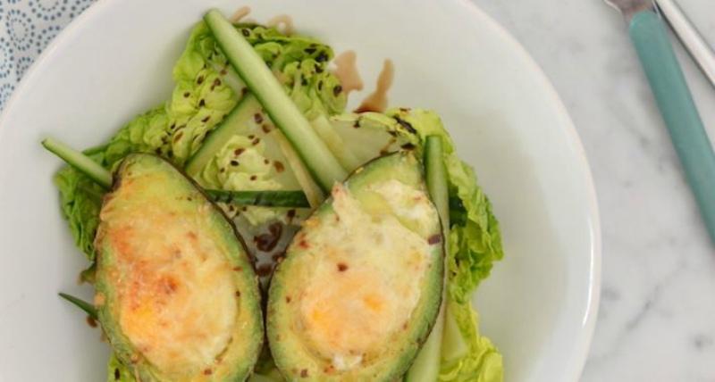 Avocado-uit-de-oven