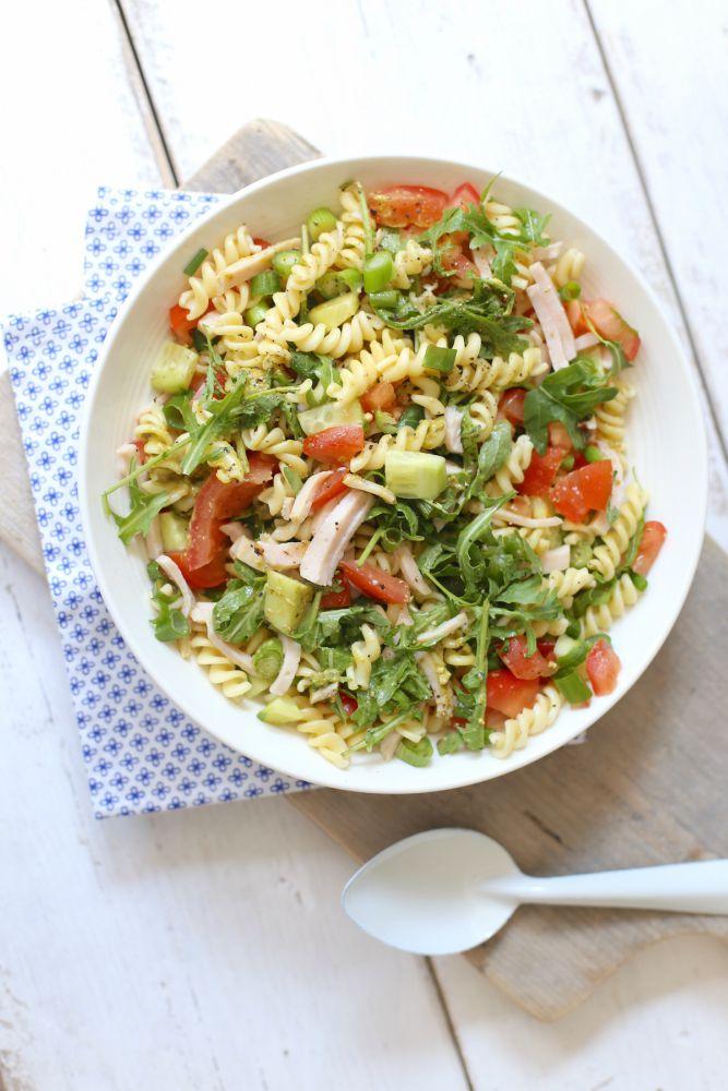 Frisse pastasalade