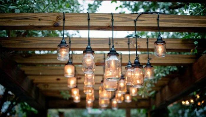 Pergola-met-lampen