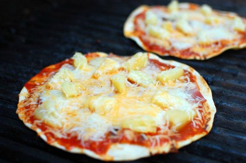 Pizza op de barbecue
