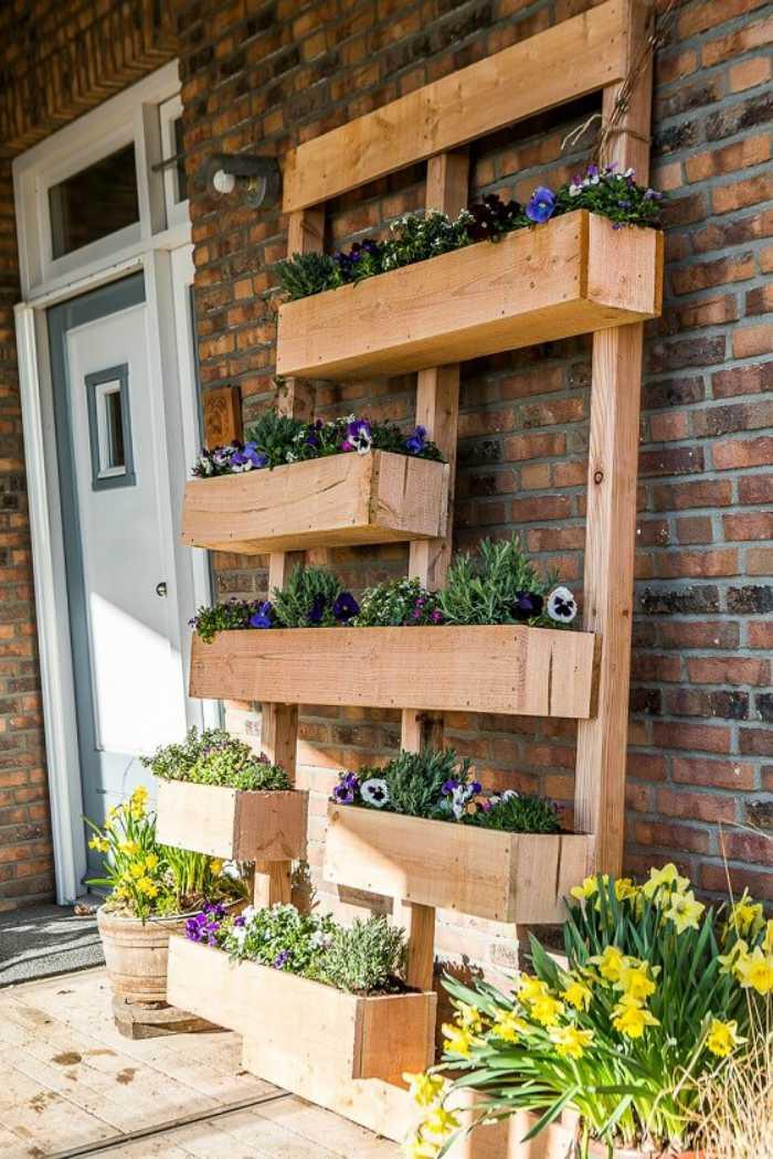 Hout in de tuin en op het terras 53 adembenemende voorbeelden for Foto op hout maken eigen huis en tuin